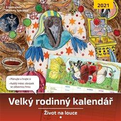 Obálka titulu Velký rodinný kalendář 2021