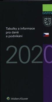 Obálka titulu Tabulky a informace pro daně a podnikání 2020