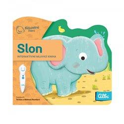 Kouzelné čtení - minikniha Slon