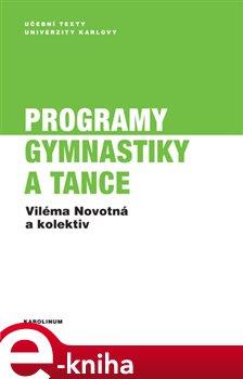 Obálka titulu Programy gymnastiky a tance