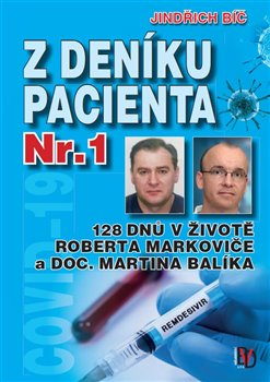 Obálka titulu Z deníku pacienta č.1