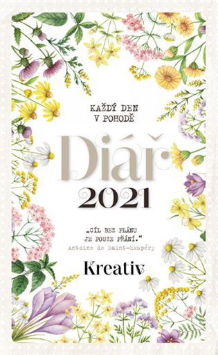 Kreativ Diář 2021 - Luční kvítí