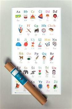 Obálka titulu Plakát – abeceda