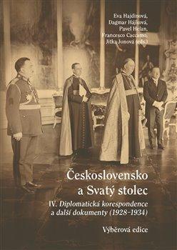 Obálka titulu Československo a Svatý stolec IV.