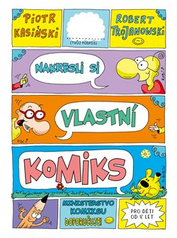 Obálka titulu Nakresli si vlastní komiks