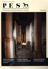 Pražské egyptologické studie XXIV/2020
