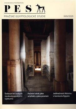 Obálka titulu Pražské egyptologické studie XXIV/2020