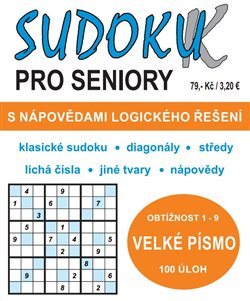 Obálka titulu SUDOKU-K pro seniory