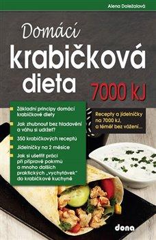 Obálka titulu Domácí krabičková dieta 7000 kJ, a téměř bez vážení