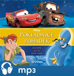 Obálka titulu Disney - Aladin, Auta, Petr Pan