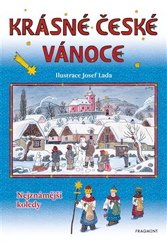 Obálka titulu Krásné české Vánoce