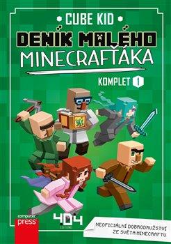 Obálka titulu Deník malého Minecrafťáka komplet 1