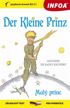 Obálka titulu Malý princ / Der Kleine Prinz (B2-C1)