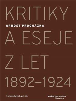 Obálka titulu Kritiky a eseje z let 1892–1924