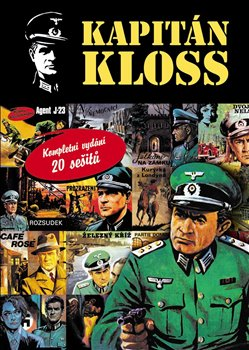 Obálka titulu Kapitán Kloss. Kompletní vydání 20 sešitů