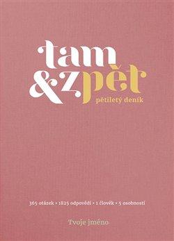 Obálka titulu Deník Tam & zpět - malý - růžový