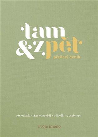 Deník Tam & zpět - malý - zelený