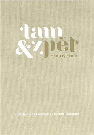 Deník Tam & zpět - malý - béžová