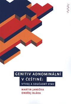 Obálka titulu Genitiv adnominální v češtině