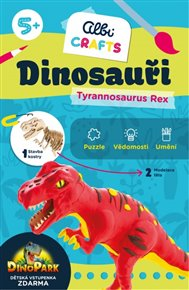 Dinosauři - Tyrannosaurus Rex - Albi Crafts