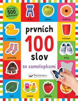 Obálka titulu Prvních 100 slov se samolepkami