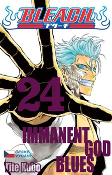 Obálka titulu Bleach 24: Immanent God Blues