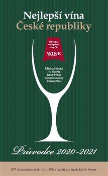 Obálka titulu Nejlepší vína České republiky – Průvodce 2020-2021