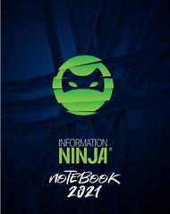 Information Ninja: Notebook 2021 - zelený