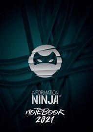 Information Ninja: Notebook 2021 - šedý