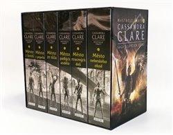 Obálka titulu Nástroje smrti 1-6: Sága o lovcích stínů v dárkovém boxu