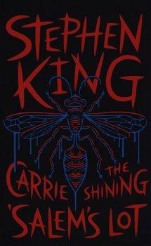 Obálka titulu Three Novels: Carrie , Shining ,  Salem