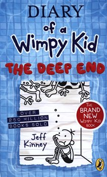 Obálka titulu Diary of a Wimpy Kid 15 - The Deep End