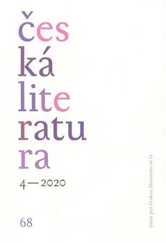 Obálka titulu Česká literatura 4/2020