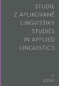 Studie z aplikované lingvistiky 2/2020