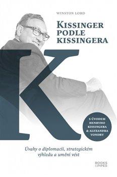 Obálka titulu Kissinger podle Kissingera