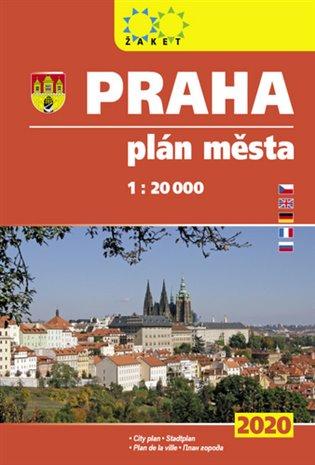Praha - knižní plán města 2020