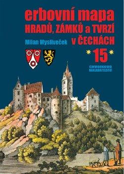 Obálka titulu Erbovní mapa hradů, zámků a tvrzí v Čechách 15