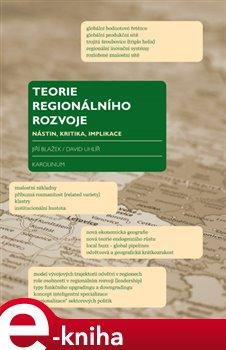Obálka titulu Teorie regionálního rozvoje