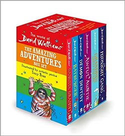 Obálka titulu The World of David Walliams: The Amazing Adventures Box Set