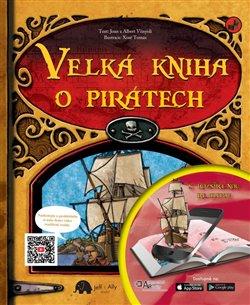 Obálka titulu Velká kniha o pirátech s rozšířenou realitou