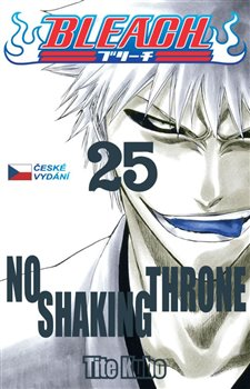 Obálka titulu Bleach 25: No Shaking Throne