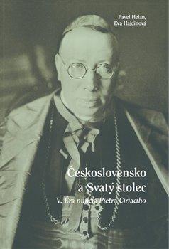 Obálka titulu Československo a Svatý stolec V.