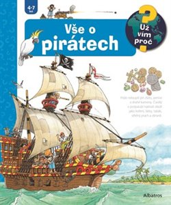 Obálka titulu Vše o pirátech