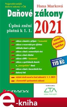 Obálka titulu Daňové zákony 2021