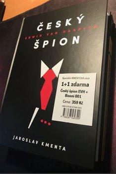Obálka titulu Český špion Erwin van Haarlem + Bisoni 001 - Komplet (2 knihy)