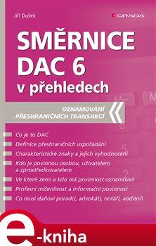 Směrnice DAC 6 v přehledech