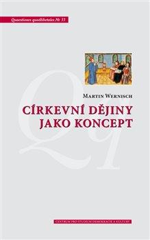 Obálka titulu Církevní dějiny jako koncept