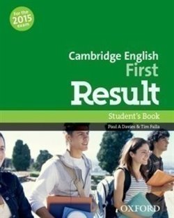 Obálka titulu Cambridge English First Result Student´s Book