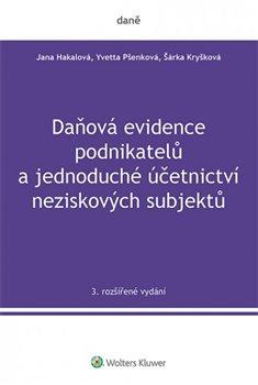 Obálka titulu Daňová evidence podnikatelů a jednoduché účetnictví neziskových subjektů, 3. rozšířené vydání