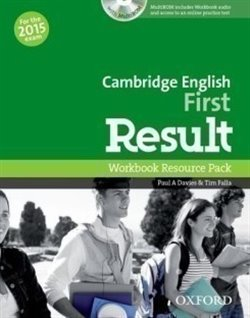 Obálka titulu Cambridge English First Result Workbook without Key with Audio CD